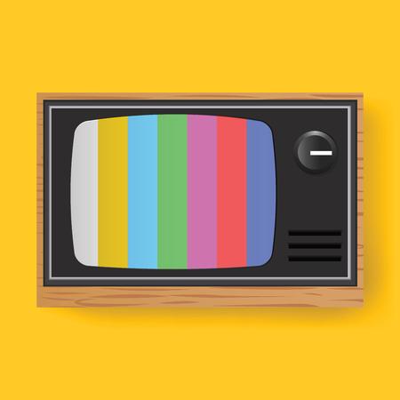 レトロなテレビ TV エンターテイメント メディア アイコン イラスト 写真素材 - 77539008