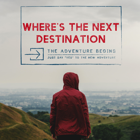 Wheres The Next Destination Explore 版權商用圖片