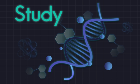 Genetics Laboratory DNA Science Biology Humanity Stok Fotoğraf