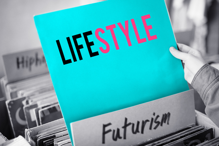 Lifestyle and futurism concept