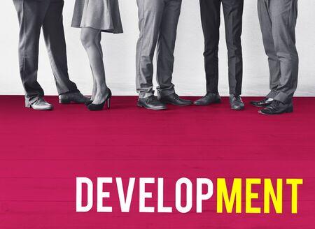 Business Development Goals Expansion Achievement Word Imagens - 77963269