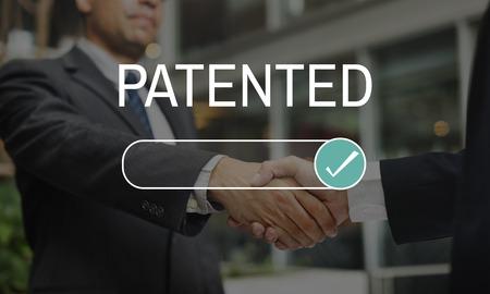 Patented License Assurance Tasted Verified Stok Fotoğraf