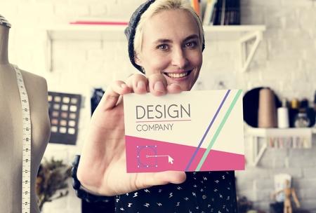 Fashion Designer Stylish Showroom Concept Stock Photo