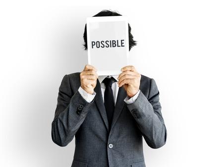 Possibilité Icône de probabilité souhaitable Banque d'images - 77928157