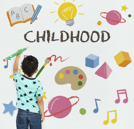 Learning Fun Childhood Imagination Education Stock Photo