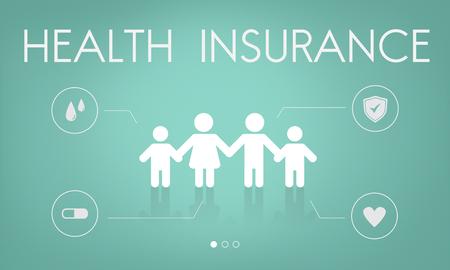 Versicherungsschutz Mix Erstattung Schutzkonzept Standard-Bild - 78101424
