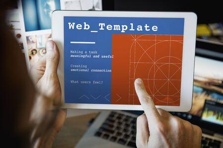 css: Web Design User Interface Concept
