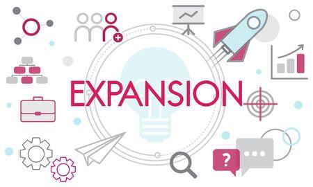 Entrepreneur Expansion Goals Business Development Фото со стока - 78199098