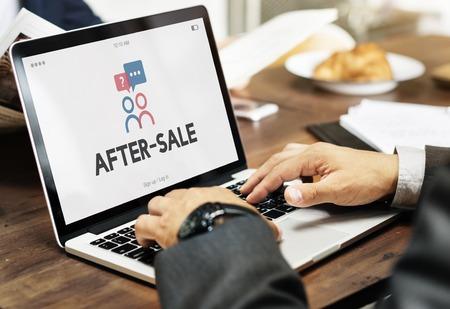 판매 정보 후 전문가에게 묻기 스톡 콘텐츠