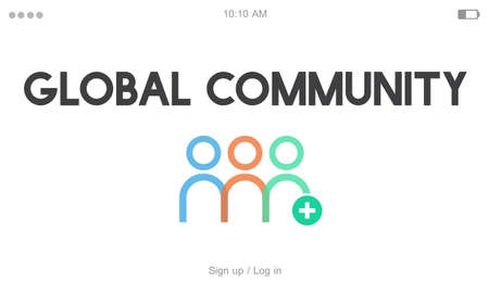 Community Cooperation Corporate People Graphic Word