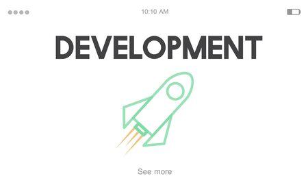 Implementation Development Investment Venture Фото со стока