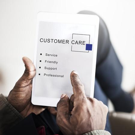 Customer Care Service Support Consumer Concept Stock Photo