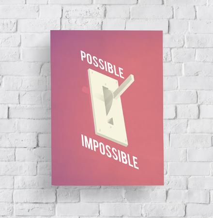 Advantge Disadvantage Possible Impossible Icon