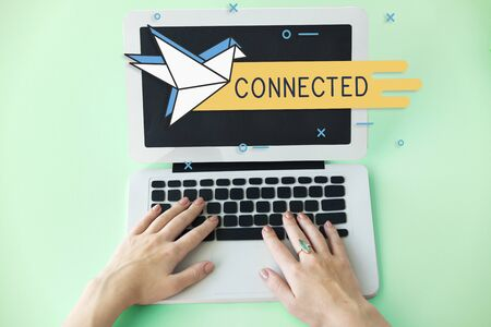 Mail Postal Communication Connection Correspondence Stock Photo
