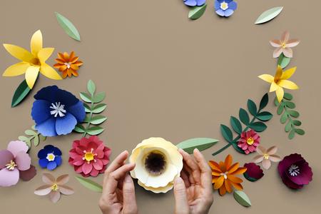 Bloem Plant Floral Nature Designs Stockfoto - 78177858