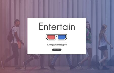 3D Glasses Movie Media Entertainment