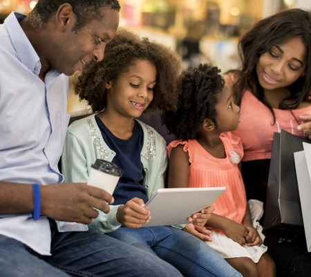 Shopping Buying Selling Spending Discount Banco de Imagens
