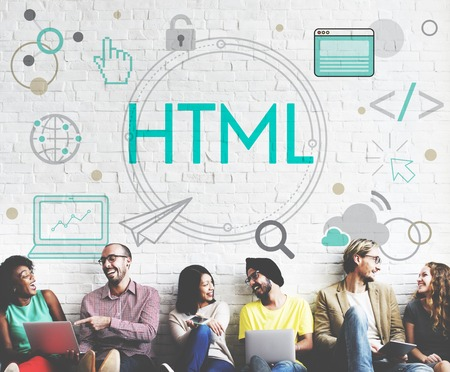 HTML HTTP Web Design Hompage Icon Stock Photo - 78175482