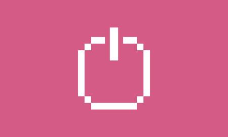 Technology Display On/Off Switch Button Фото со стока - 78233031