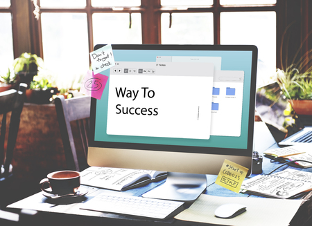 information medium: New Business Venture Entrepreneur Concept Stock Photo