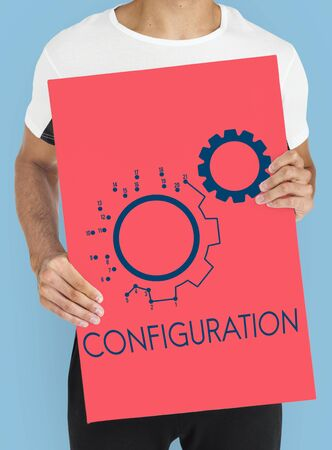 Cog Configuration Setting Icon Graphics Stok Fotoğraf - 78201977