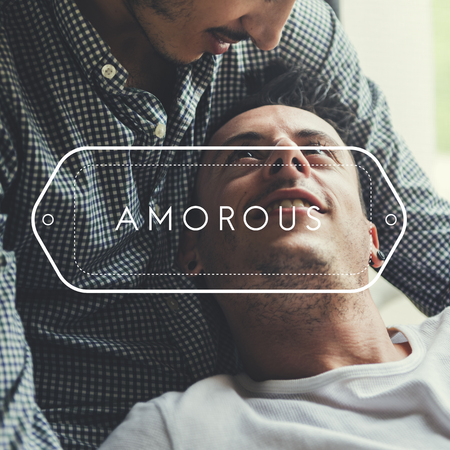 pareja apasionada: Amor Enamorado LGBT Amor Intimo
