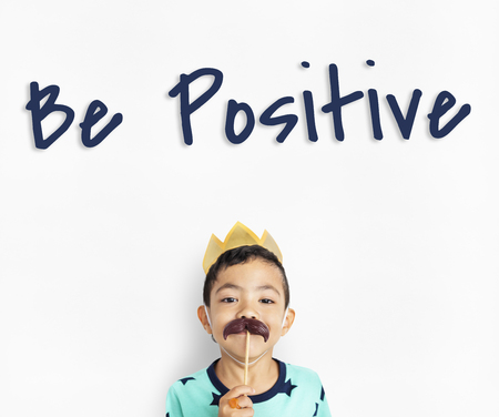 Be Yourself Positive Optimistic Brave Live Your Life Stock Photo