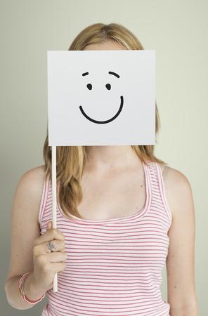 Dibujo Expresiones faciales Emociones Sentimientos Foto de archivo - 78140348