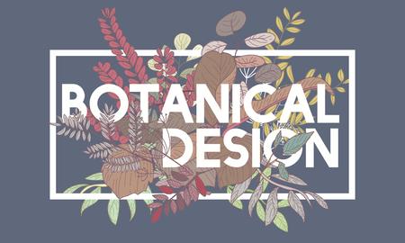 Botanical Design Vector Concept