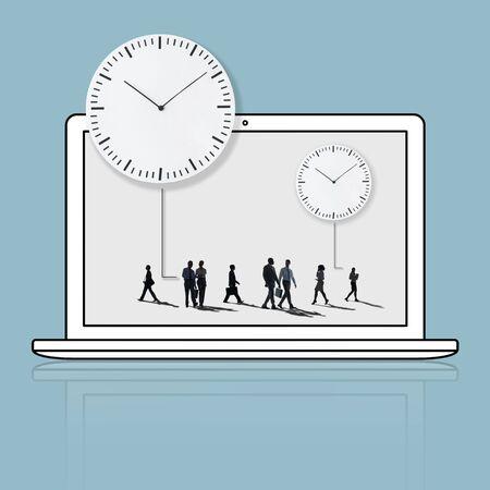 Time Management Duration Schedule Punctual Concept Stock Photo