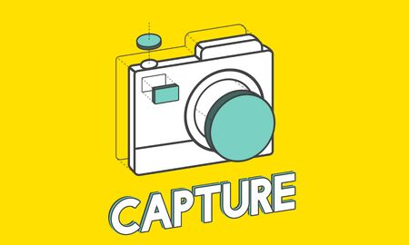 Digital camera illustration photography graphic 版權商用圖片 - 78275195