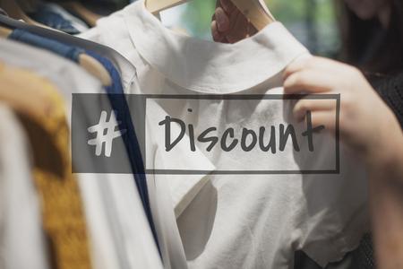 Sale Discount Voucher Hashtag Word