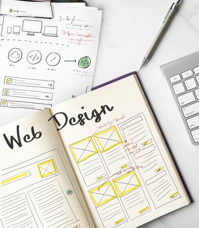 HTTP HTML Web デザイン ホームページ アイコン 写真素材