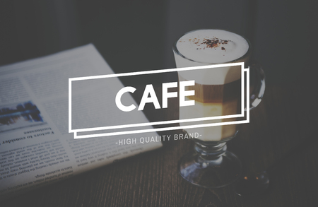 コーヒー ブレークのカフェ文化の概念
