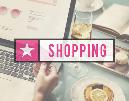 Fabulous life of shopping online for feminine