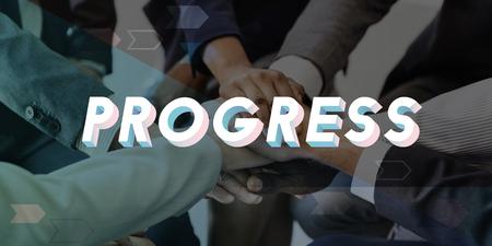 Progress Improvement Mission Change Business Imagens - 78470200