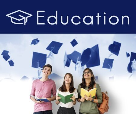 study group: Academy Certification Curriculum School Icon Stock Photo