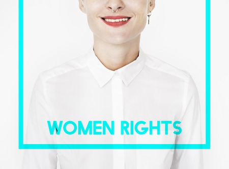 Woman Equality Gender Rights Liberation Banco de Imagens
