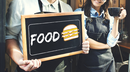 Burger Fast Food Icon Graphic Stock Photo - 78393852