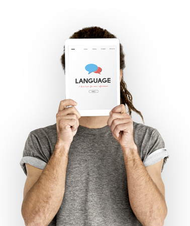 Language Communication Message Written Stock Photo - 78394102