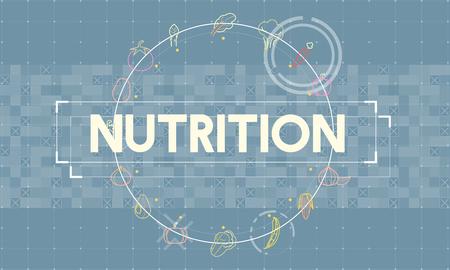Nutrition concept Stock Photo