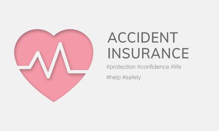 Salud de seguro de accidentes de accidentes de vida Foto de archivo - 78395387