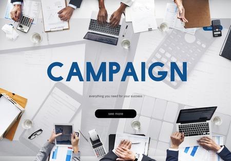Campagne Commercieel Branding Online Word