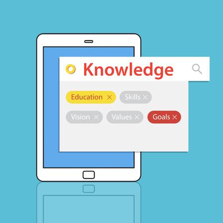 Education Skills Recruitment Word Search Stock Photo