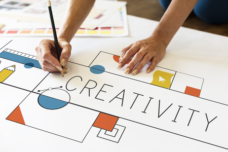 Creative Design Creativity Drawing Concept