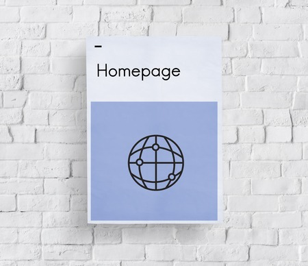 HTML HTTP Homepage Technology Icon Stock Photo