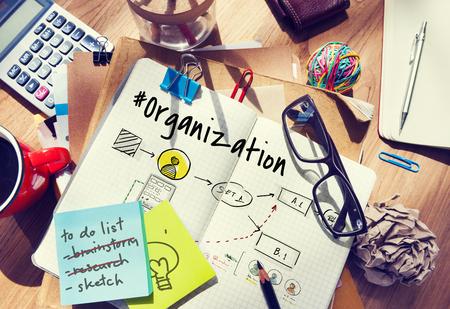 information medium: Organization Company Ideas Business Collaboration Stock Photo