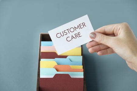 categorize: Customer Satisfaction Service Care Problem Solving Stock Photo