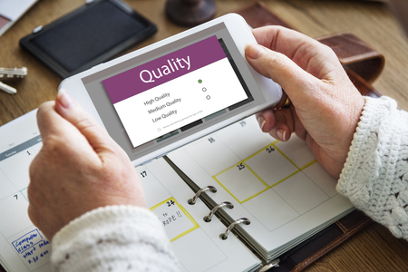 Quality Solution Options Graphic Interface