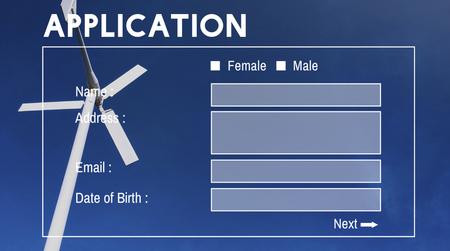 Application Information Banner Website